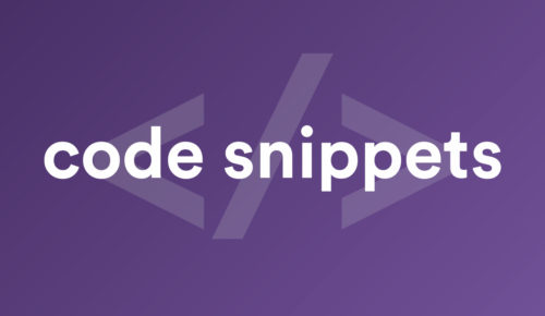 wpsimpel code snippets